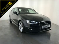 2014 64 AUDI A3 S LINE TDI DIESEL 3 DOOR HATCHBACK 1 OWNER FINANCE PX WELCOME