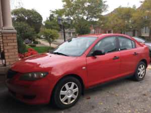 2006 MAZDA 3 FOR SALE - AUTOMATIC TRANSMISSION