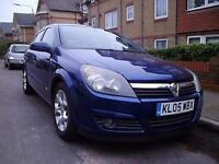 Vauxhall Astra 1.6i 16v SXi 2005/05 5 door, LOW MILEAGE !