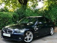 2008 Black BMW 325i M Sport Auto E92 3.0 Automatic Coupe 2 Door