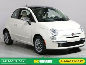 2012 Fiat 500 LOUNGE A/C CUIR TOIT MAGS