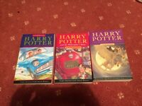 3 Harry Potter books