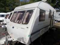 Bailey Ranger 470/4 1998 Lightweight 4 Berth Touring Caravan Centre Dinette