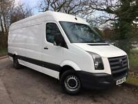 2008/58 Volkswagen Crafter 2.5TDi (109PS) CR35 LWB, White, MOT 02/2018