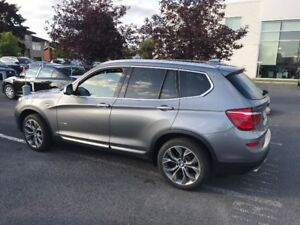 2015 BMW X3 xDrive28d SUV, Crossover lease take over
