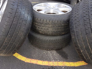All season tires 215 55 17.  $125 Kitchener / Waterloo Kitchener Area image 2
