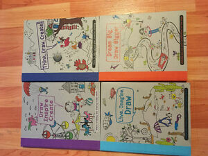 4 creative books for kids to do