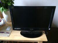 "19"" LCD Technika tv/dvd combo spares or repairs"