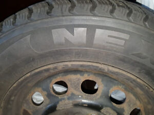 TWO SETS OF WINTER TIRES (HONDA CIVIC) FOR SALE - $40 PER TIRE