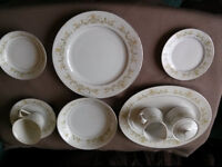 Towne House Golden Regal Fine China