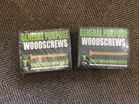 General purpose wood screws x 2 boxes