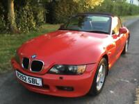 BMW Z3 1.9 auto 1998 , comes with full mot