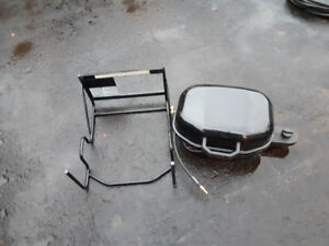 Barbecue.   extension  kit roulotte