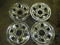 4 chrome 6 bolt rims