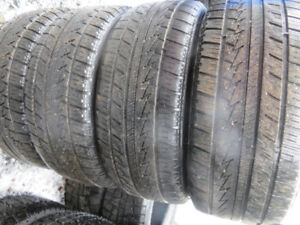 4  -  P225/45R17 SEVERE SNOW RATED WINTER TIRES LOTS OF TREAD