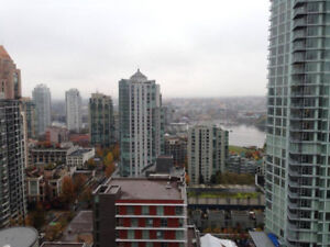 Furnished Yaletown Condo with Magnificent Water View