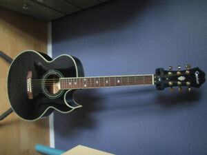 Acoustic Electric 6 string Epiphone..like new!