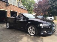 AUDI A3 SPORT TFSI CONVERTIBLE LOW MILES, YEARS MOT.