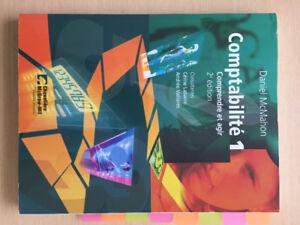 Comptabilité 1, Comprendre et agir 2e édition, Daniel McMahon
