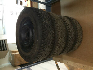 GENERAL ALTIMAX ARTIC WINER STUDDED TIRES