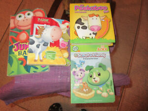 4 Board Bks - Peekaboo, Farm, Jungle Babies. Scout & Friends