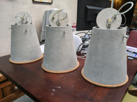 Made Ira Concrete Pendant Lamp Shades