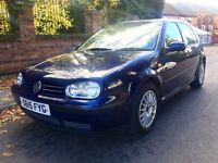 Volkswagen Golf S 1.6 Low Miles. Drives Superb. Full MOT