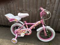 Daisychain a Childs bicycle with Teddy rack
