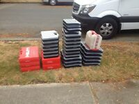 Free parts and tool boxes