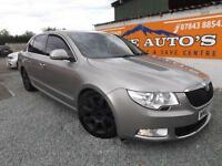 SKODA SUPERB 2.0TDI CR 170 ELEGANCE DIESEL GOLD