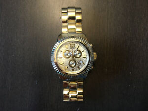 """Marc Ecko Gold Watch """"The Master Piece"""""""