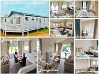 Ex-demo Lodge with Decking For Sale In Norfolk