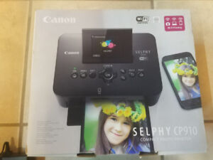 Canon SELPHY CP910 - SELPHY Compact Photo Printer