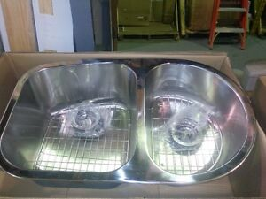 C-TECH-I double undermount or drop in stainless sink