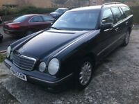 2001 MERCEDES BENZ E240 1 YEARS MOT PX TO CLEAR BARGAIN