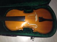 Lovely condition violin and case