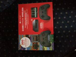 Game console with 300 games built in .Works great 40.00.