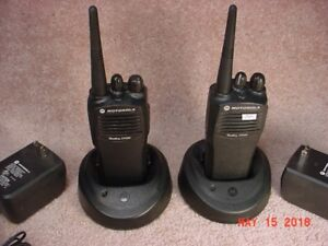 For Sale: Pair of Motorola CP200 4 Ch UHF Portable Radios