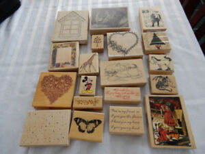 GREAT DEAL ON RUBBER STAMPS