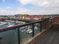 Two Bedroom Apartment overlooking Exmouth Marina