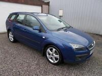 2007 Ford Focus 2.0 TDCi Zetec 5dr [Euro 4] [Climate Pack] 5 door Estate