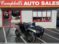 2013 ARCTIC CAT 550 LIMITED EDITION   POWER STEERING  ONLY 28KM
