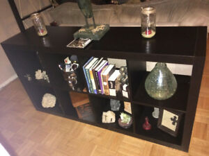 IKEA Console/ TV console/ Coffee table/ Shelf/ Unique Art