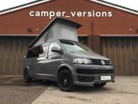 VW T5 Transporter Campervan 2015 | Pure Grey | Starry Night Ceiling | 32k mile