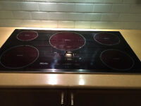 Miele electric cooktop induction