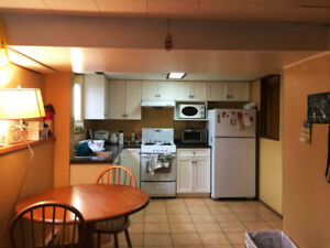 2BR furnished basement suite for the Summer! (May-Aug)