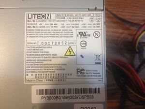 LITEON - POWER SUPPLY