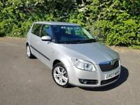SKODA FABIA 3 1.6 PETROL MANUAL SILVER 5 DOOR HATCHBACK 2007