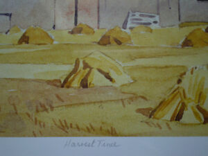 """Initialed A.J. Casson-""""Harvest Time"""" Artists Proof Kitchener / Waterloo Kitchener Area image 6"""