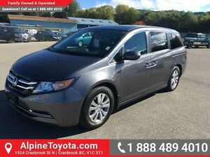 2014 Honda Odyssey EX   low km, push button start, heated seats